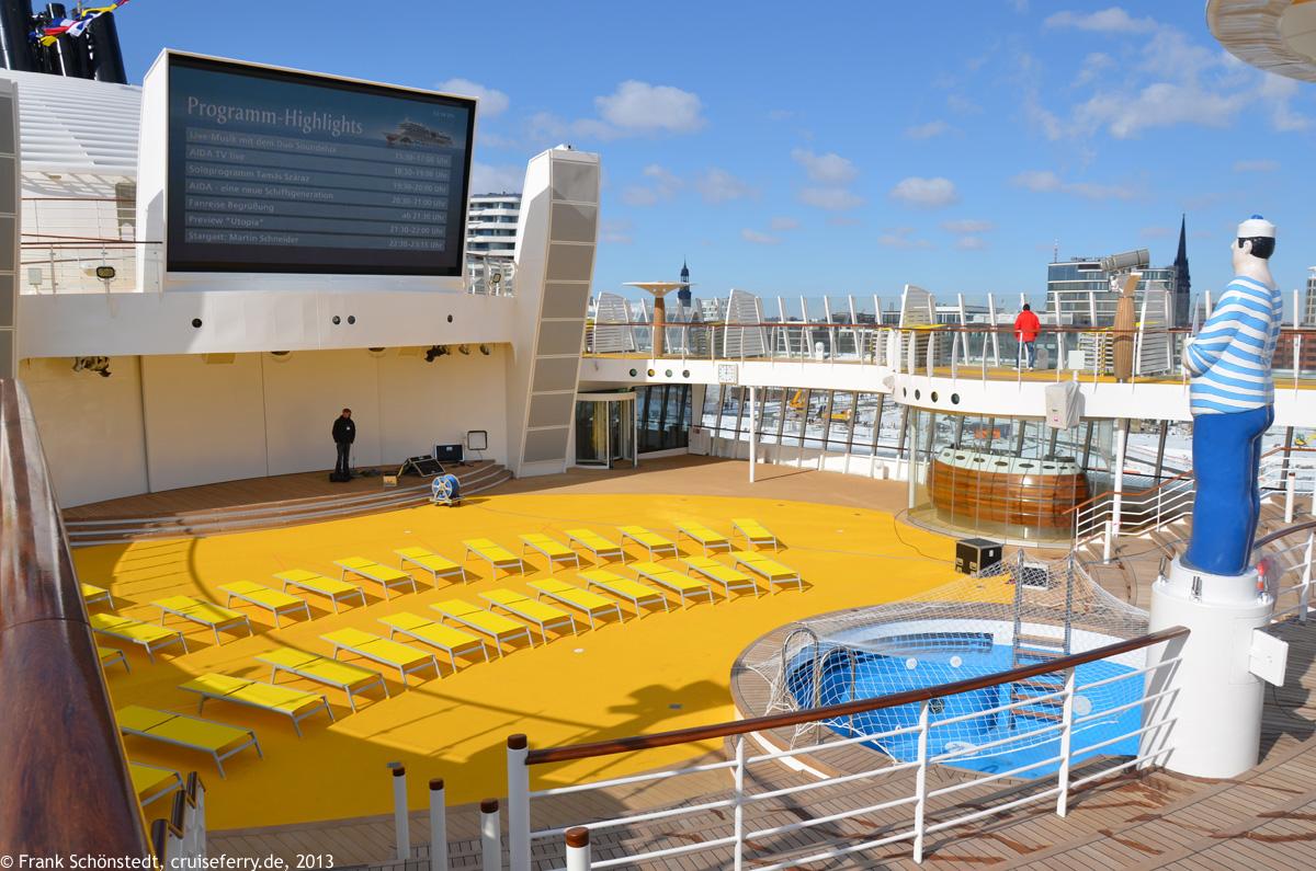An Bord Der Aidastella Bilder Fotos Innenaufnahmen