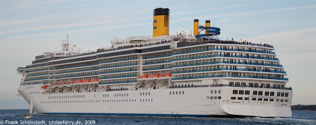 an bord der costa mediterranea von costa kreuzfahrten