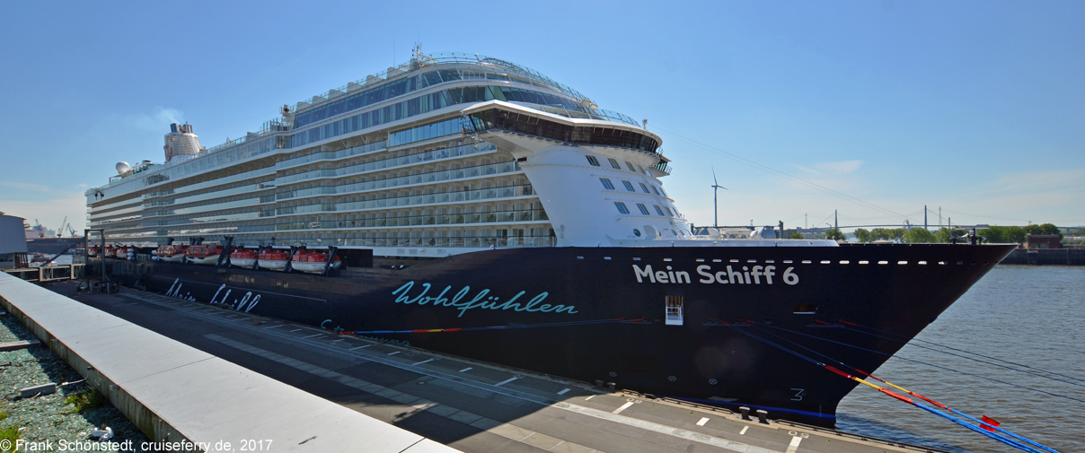 Mein Schiff 6 - Bilder / Fotos von Bord - Innenaufnahmen