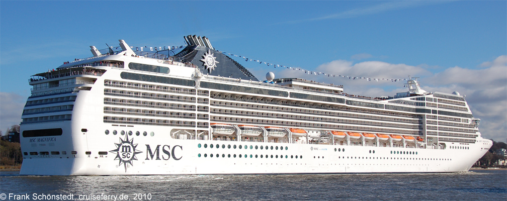 An bord der msc magnifica von msc kreuzfahrten for Msc magnifica foto